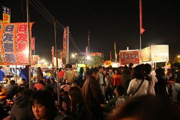 観光客が多い街、台南