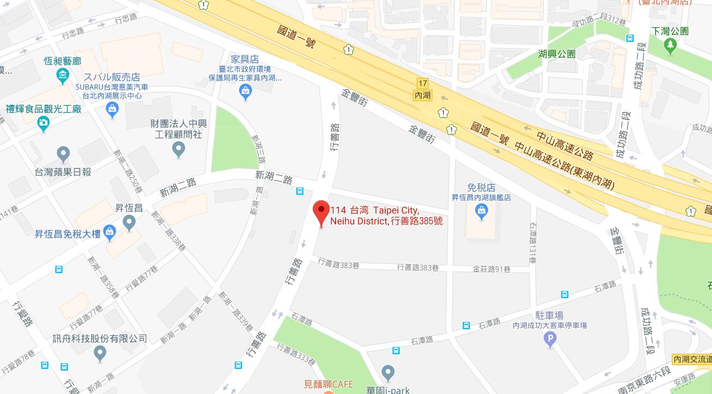※地図画像をクリックするとGoogle マップにリンクします。