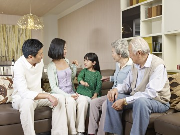家族愛、家族の結びつきを重んじる台湾人