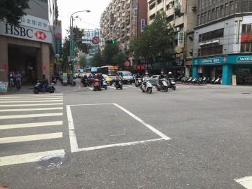 とにかくバイクが多い台湾