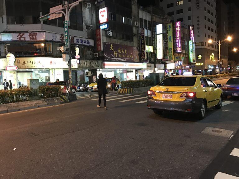 台湾のタクシー事情