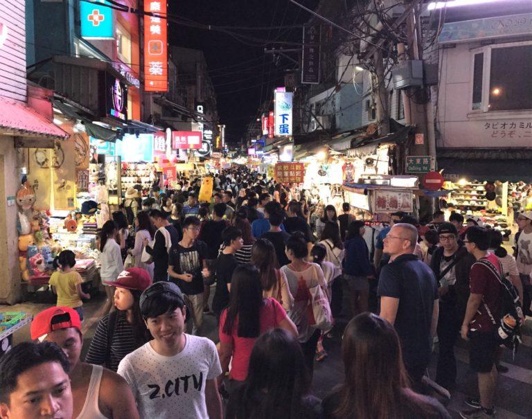 台湾の夜市と調査