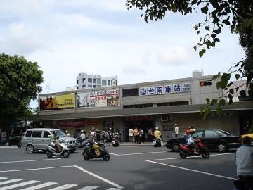 交通量の多い台南